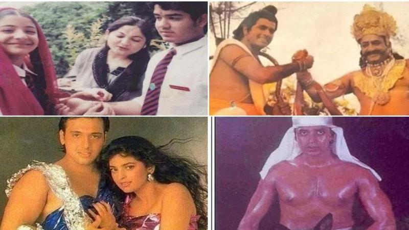 आपने नहीं देखी होगी बॉलीवुड की ये तस्वीरें, 'राम' और 'रावण' भी मिला रहे है हाथ...