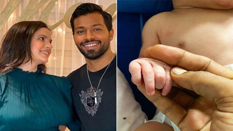 पापा बन गए हार्दिक पंड्या, मंगेतर ने दिया बेटे को जन्म, तस्वीरें वायरल