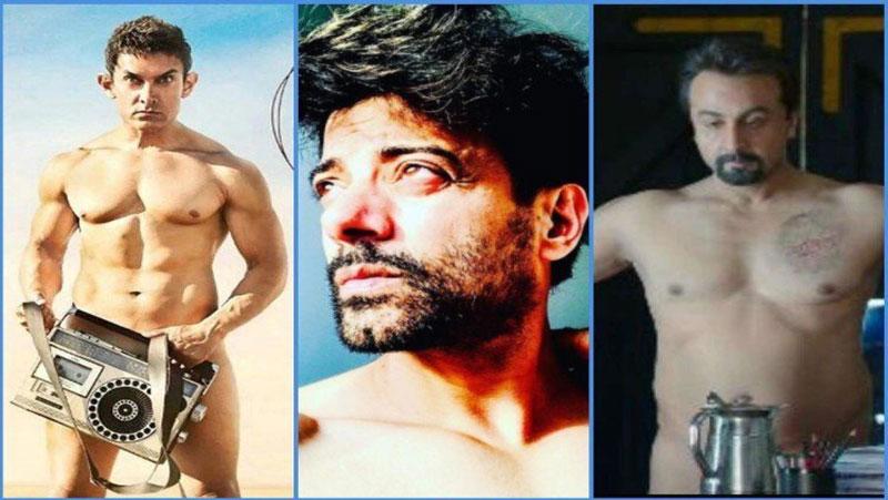 जब फिल्मो के लिए इन अभिनेताओं ने कराया न्यूड शूट, आमिर खान पर मचा था बवाल
