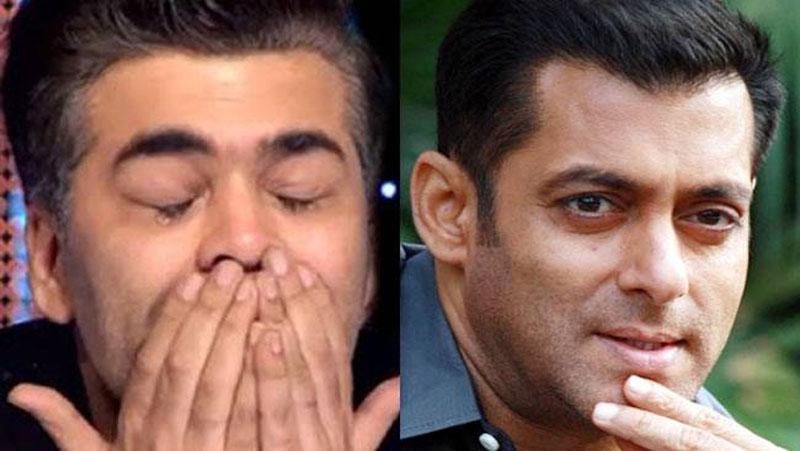 जब सलमान खान की वजह से फूट-फूट कर रोए थे करण जौहर...