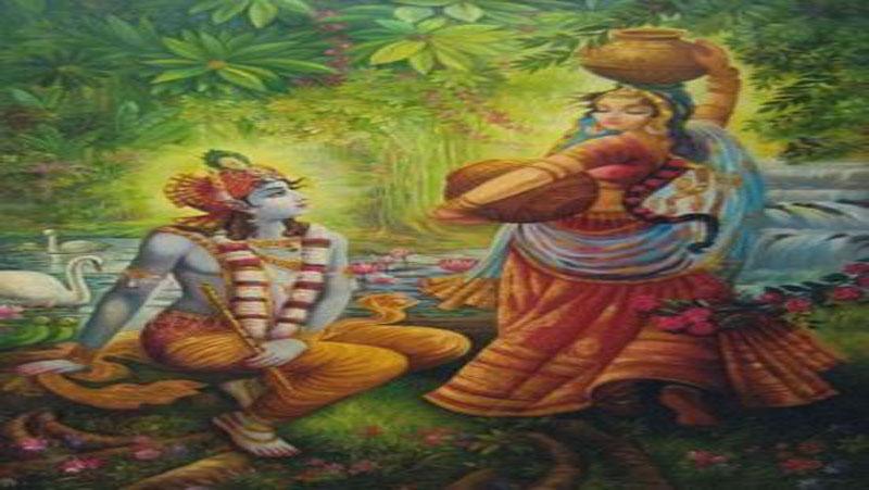 किस तरह हुई थी कृष्ण और राधा की पहली मुलाकात | जानिए...