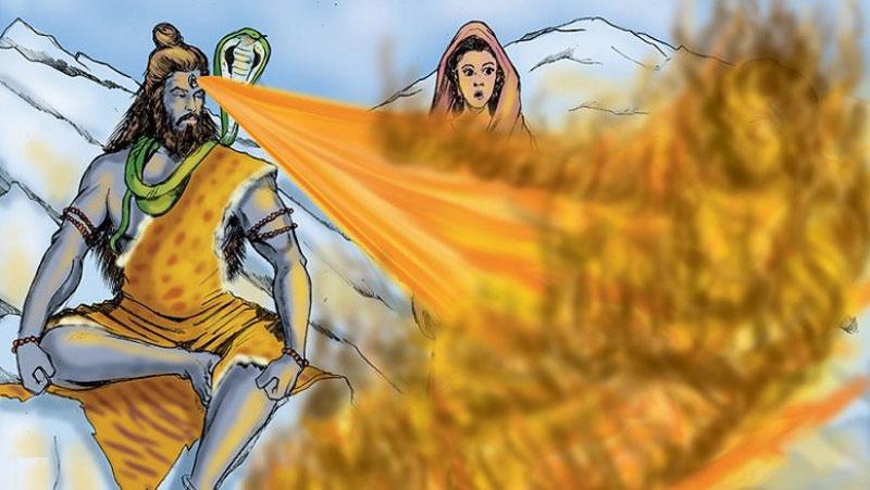 स्वर्ग का वह देवता जिसे भगवान शिव ने जला दिया था जिन्दा | जानिए...