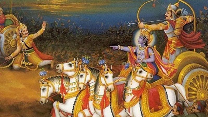 महाभारत में कृष्ण की नीति से बचे थे युधिष्ठिर के प्राण, मारने के लिए अर्जुन ने उठा ली थी तलवार