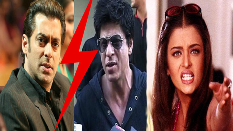 ऐश्वर्या के प्यार में पागल थे सलमान, शाहरुख़ खान के साथ नहीं करने दी ये फिल्मे इसी कारण ऐश्वर्या ने कर लिया ब्रेकअप...