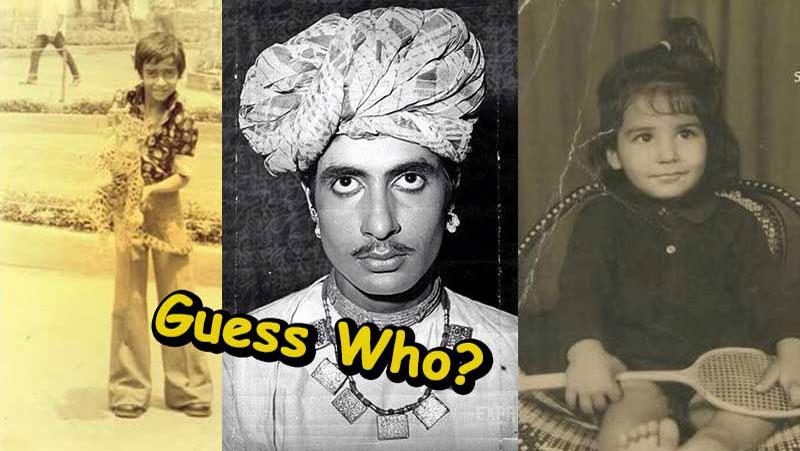 बहुत ही कम लोगो ने देखी है बॉलीवुड की ये अनदेखी तस्वीरें, पहचान नहीं पाएंगे संजय दत्त को....देखे तस्वीरें