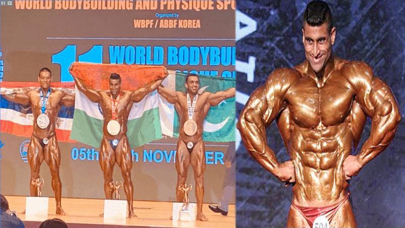 विश्व बॉडीबिल्डिंग चैंपियनशिप में भारतीय सेना के इस जवान ने दिखाया अपना जलवा, जीता गोल्ड मेडल...जानिए